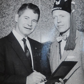 Gramps with Governor Orville Freeman - Photographs