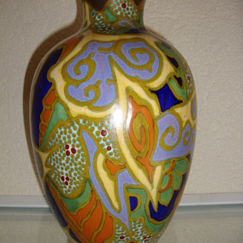 breetveld vase 20s zuid holland - Pottery