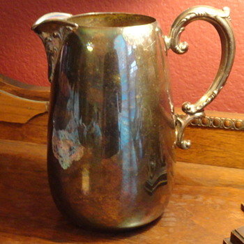 Forbes? Silver Pitcher - Silver