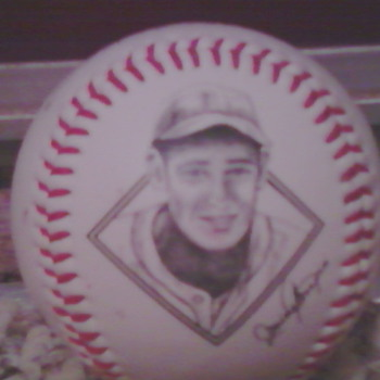 Ted Williams Photo baseball