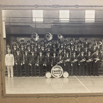 Vintage Hershey Industrial School Band Photograph, Unknown Years - Photographs