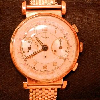 Rare 14k gold Doxa found in GrandPa's attic - Value unknown - Wristwatches