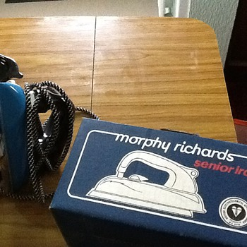 1960s morphy richards iron mint con with box - Kitchen