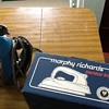 1960s morphy richards iron mint con with box