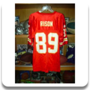 1989 Rison KC Cheifs Jersey