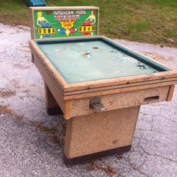 Hooligan Pool Table  - Coin Operated