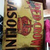 Wondering price on red crown sign/and year? Metal.....