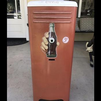 Vintage Coca Cola Water Dispenser / Cooler - Coca-Cola