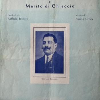 """""""Mogle di Fuoco"""" Sheet Music - Paper"""