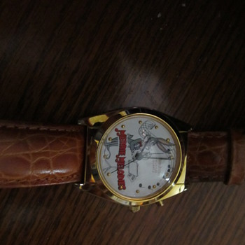 loony tunes musical a flea market find - Wristwatches