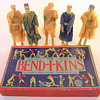 Bend-I-Kins toy by The Embossing Company