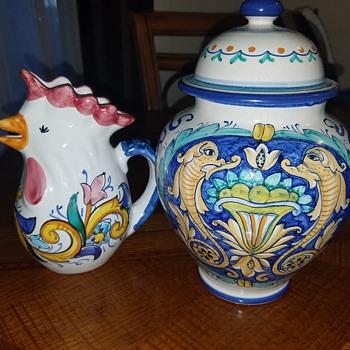 Italian Ceramics  - Pottery