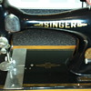 1901 singer sewing machine in good condition.value?