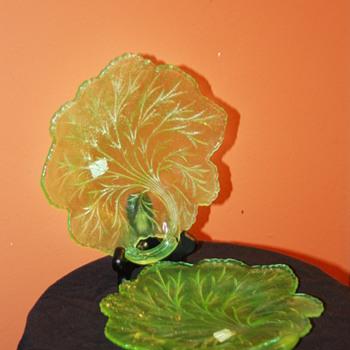 Uranium or Vaseline Glass - Glassware