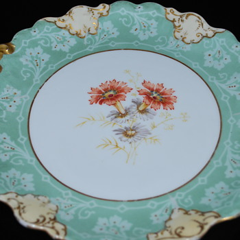 Limoges plates with gold handles - China and Dinnerware