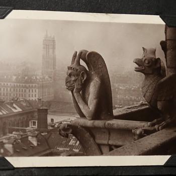 Souvenir of Paris - Early Photo Scrapbook with BEAUTIFUL Shots! - Photographs