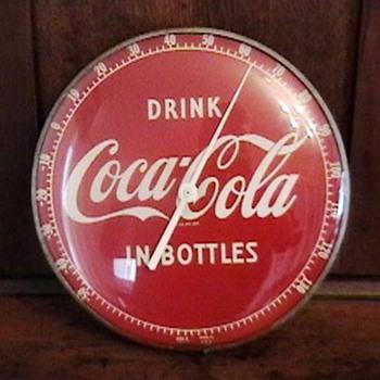 Original 1950s Coca-Cola Thermometer - Coca-Cola