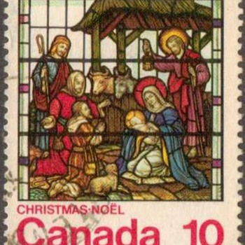 "1976 - Canada ""Christmas"" Postage Stamp - Stamps"