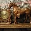 Vintage Sessions (< I think) Mantel Horse Clock