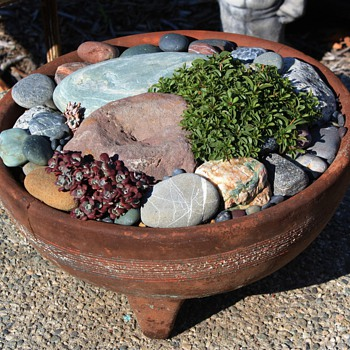 Three-footed Pot with an interesting story...