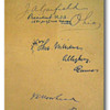 Original signature of James A. Garfield, the 20th President of the United States