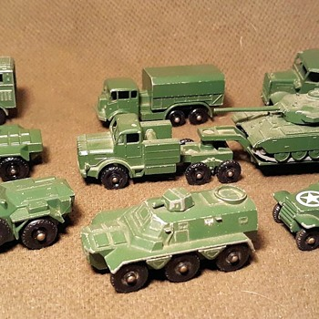 Much Military Multiple Madness Matchbox Monday Models From the Early 1960s - Model Cars