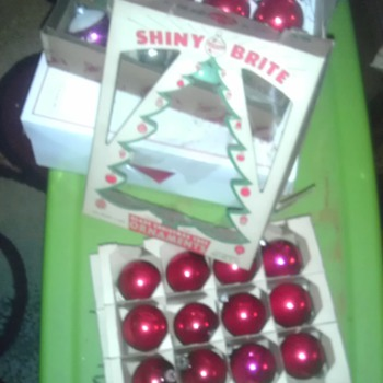 more christmas ornaments found in the attic this time - Christmas