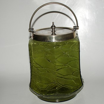 S. J. Levi & Co., 1901 - 1938, Birmingham, UK, Biscuit Jar - Glassware