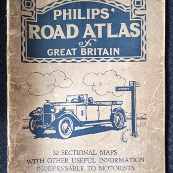 Philips road Atlas. - Books