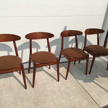 Vilhelm Wohlert Louisiana chairs - set of 4 - Furniture