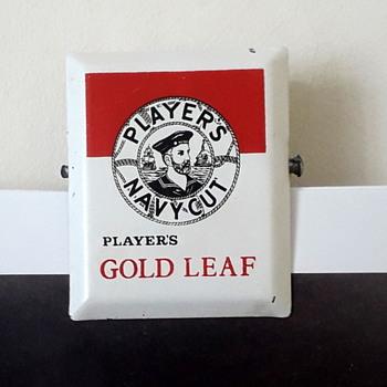 Gold Leaf spring clip - Advertising