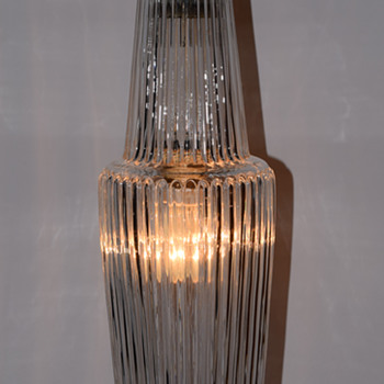 Ribbed glass - Lamps