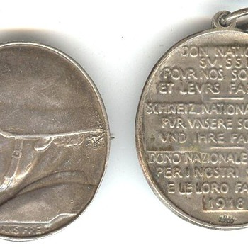 Swiss War Medals II - Military and Wartime