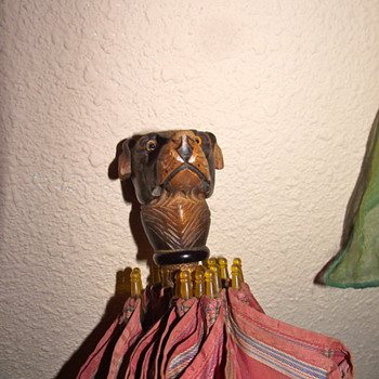 My Grandfather's Dog Head Umbrella - Accessories