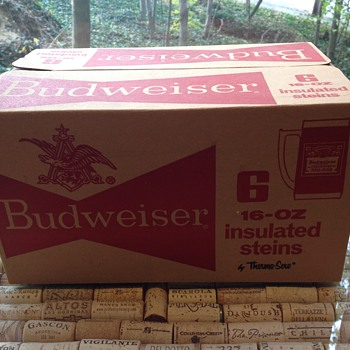Budweiser mugs - Breweriana