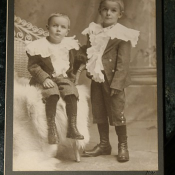 Photo of some relatives in their Baptism Ruffles - Photographs