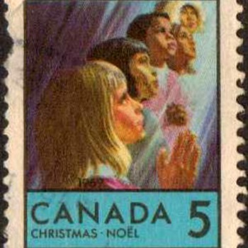 "1969 - Canada ""Christmas"" Postage Stamps - Stamps"