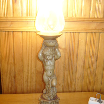 1900 banquet lamp - Lamps