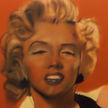 Marilyn Monroe is this a Andy Warhol? big painting no marks, Help?