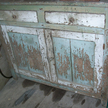 Real shabby-chic cabinet - Furniture