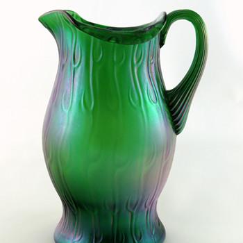 Loetz Crete Neptun Pitcher - Art Glass