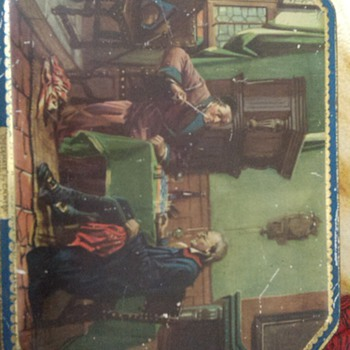 old biscuit tin