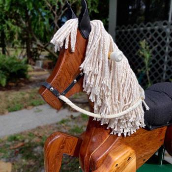 Vintage Rocking Horse - Toys