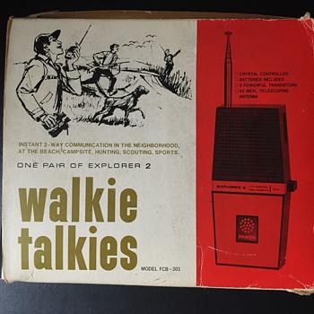 Fanon explorer 2 walkie talkie. - Electronics