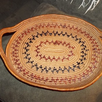 Salish Basket Tray - Native American