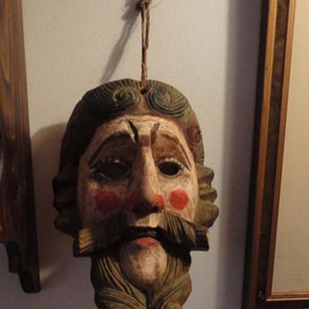 Guatemala Mask - Folk Art