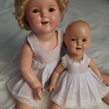 Shirley temple composition dolls - Dolls
