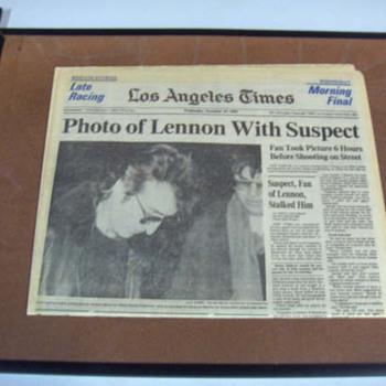 L.A.Times...December 10,1980... - Music Memorabilia