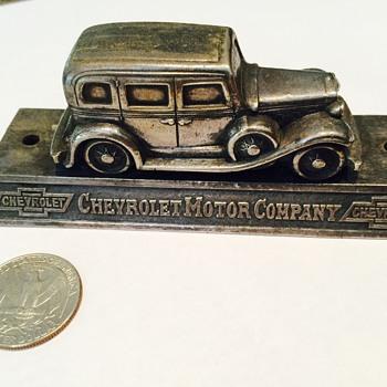 Vintage Chevrolet Desktop Item?