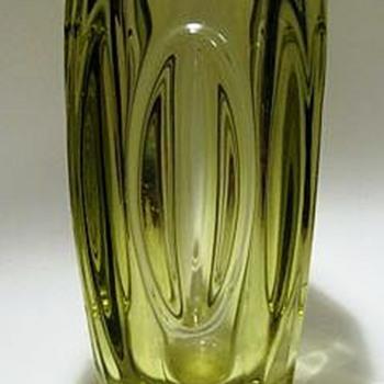 RUDOLF SCHROTTER (( ROSICE )) Sklo Union - Art Glass